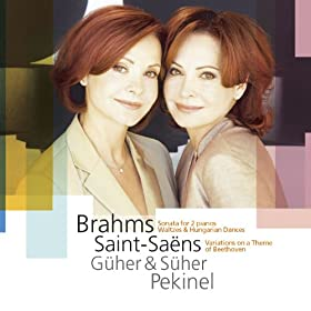 Saint-Sa�ns : Variations on a Theme by Beethoven Op.35