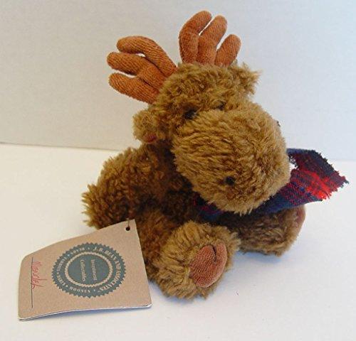 "Boyds Bears Moose Mendel Von Hindenmoose - 6"" # 5547 J.B. Bean Series"
