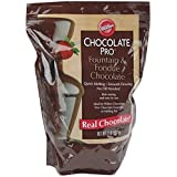 Wilton 2 Pack Chocolate Pro Fountain and Fondue Pans, 4 lb, Brown