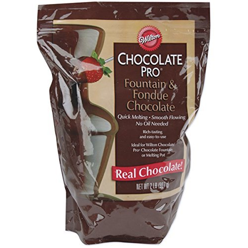 Wilton 2 Pack Chocolate Pro Fountain and Fondue Pans, 2 lb, Brown (2-Pack) (Fondue Dual compare prices)