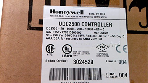 HONEYWELL UDC2500 UDC2500-E0-0L00-200-10000-EO-0 (Honeywell Udc2500 compare prices)