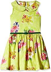UFO Girls' Dress (AW16-WR-GKT-341_Yellow_10 - 11 years)