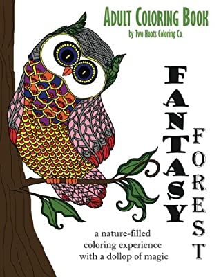 Adult Coloring Book: Fantasy Forest (Adult Coloring Books) (Volume 2)
