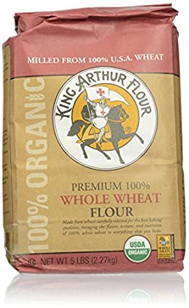 Amazon.com: King Arthur Flour 100%s Organic Premium Whole