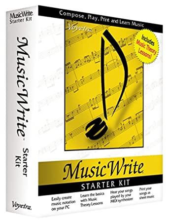 Music Write Starter Kit