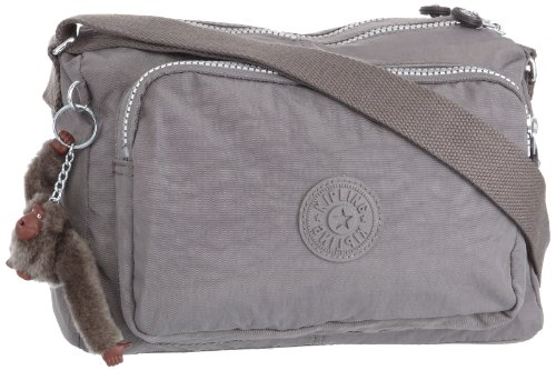Kipling Women's Reth Zip Shoulder Bag K12969801 Ash Grey