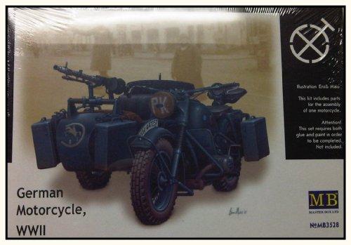 Buy Low Price Dragon Models 1/35 German Motorcycle, WWII Figure (B001IYH73K)