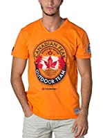 CANADIAN PEAK Camiseta Manga Corta Jeineken (Naranja)