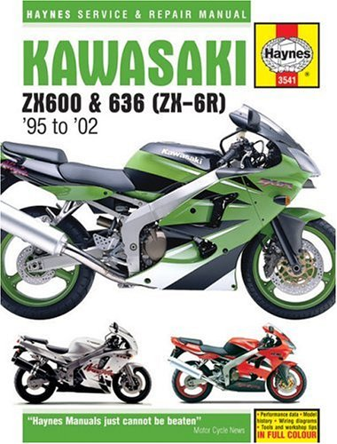 Kawasaki ZX600 & 636 (ZX-6R) 1995-2002 (Haynes Service and Repair Manual Series)