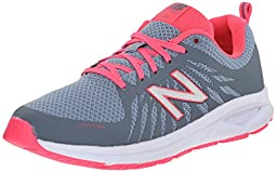 New Balance Women\'s WW1065V1 Walking Shoe, Grey/Blue/Pink, 8 B US