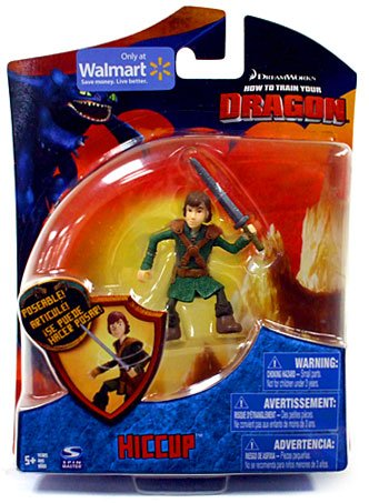How To Train Your Dragon Movie 4 Inch Action Figure Hiccup with Sword