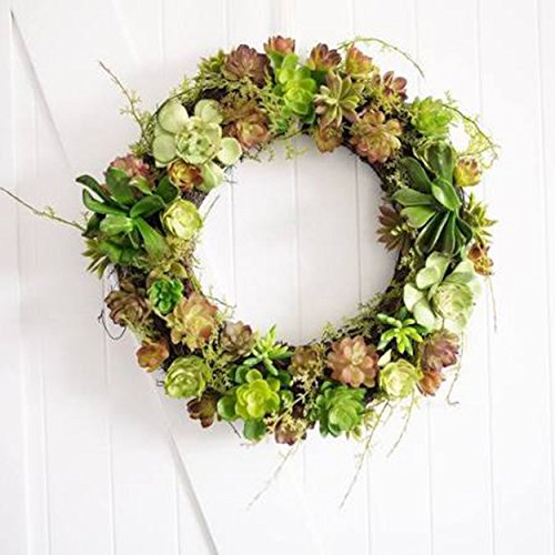 PND's Handcrafted Faux Silk Floral Wreaths: Through the Woods Wreath (Silk Elements Mixed Silk compare prices)