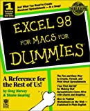 Excel 98 For Macs For Dummies (For Dummies (Computer/Tech)) (0764502271) by Harvey, Greg