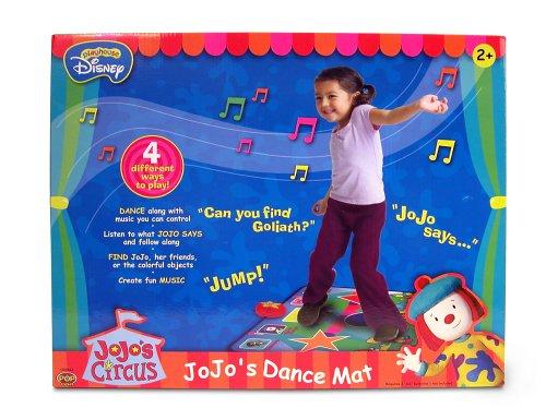 Playhouse disney jojo s circus dance mat 797191000420
