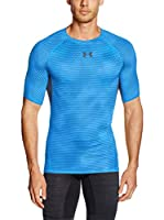 Under Armour Camiseta Manga Corta Ua Hg Armour Printed Ss (Azul)