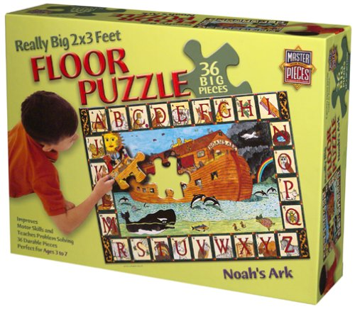 Cheap American Noah's Ark,floor Puzzle 36pc (B000067V1S)