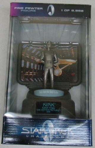 Picture of Racing Champions Kirk Fine Pewter Star Trek Figure From Racing Chapions (B0033HPYHG) (Star Trek Action Figures)