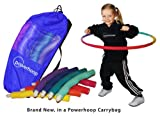 Powerhoop® 1.5-lb Weighted Fitness Hula Hoop for Kids, in a Carrybag