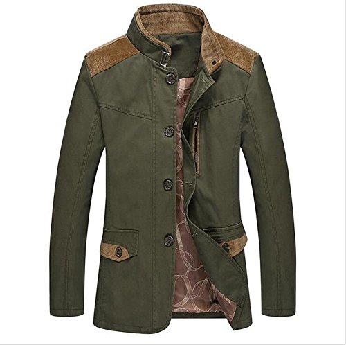 zzhh-mens-washed-leisure-jacket-windbreaker-jacket-army-green-l