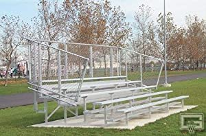 21 Fixed Stationary Bleachers 5 Row from Gared Sports