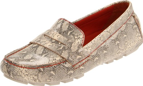 Cole Haan Women's Air Sadie Driver,White Pine Snake,7 B US