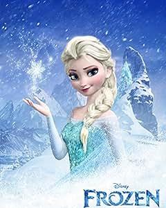 Amazon.com: Frozen Elsa Wall Poster Print Art Decoration
