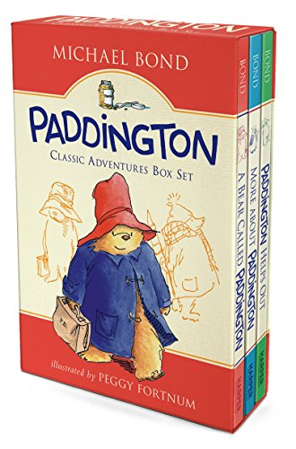 Paddington Classic Adventures Box Set: A Bear Called Paddington, More About Paddington, Paddington Helps Out (Paddington Bear Book compare prices)