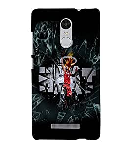 PrintVisa Sports Basketball 3D Hard Polycarbonate Designer Back Case Cover for Xiaomi Redmi Note 3