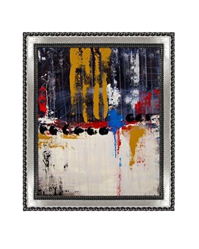 Elwira Pioro Walk The Line Framed Print On Canvas, Multi, 28.75″ x 24.75″