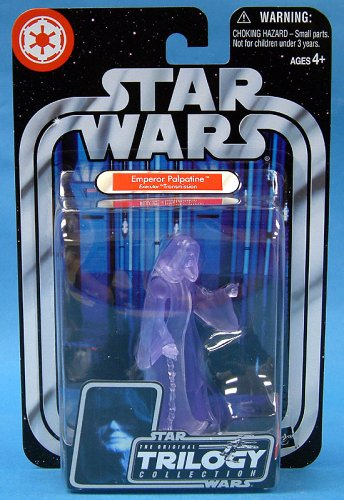 Star Wars: Original Trilogy Collection Holographic Emperor Action Figure