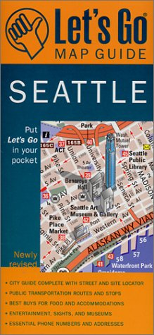 Let's Go Map Guide Seattle (2nd Ed.) (Let's Go: Costa Rica, Nicaragua, & Panama)