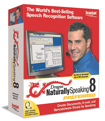 Dragon Naturally Speaking 8 Preferred