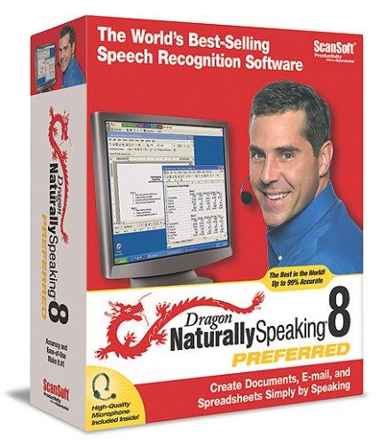 ScanSoft Dragon NaturallySpeaking 8 Preferred [Old Version]