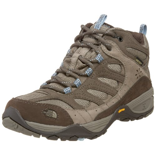 The North Face Women's Sable Mid Gtx Xcr Classic Khaki/Tofino Blue Hiking Shoe T0Alrfbq3 7 UK