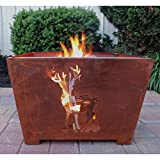 Esschert-Design-Nature-Scene-Wood-Burning-Fire-Pit