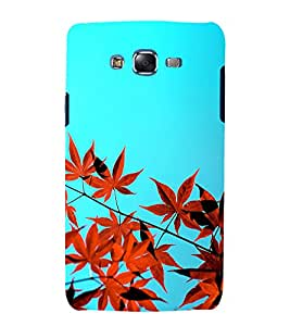printtech Nature View Leaves Back Case Cover for Samsung Galaxy A3 /Samsung Galaxy A3 A300F