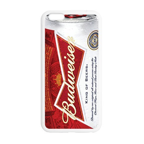 Cool Beer Series Budweiser Cover Case for iPhone 6 Plus 5.5″(Laser Technology)