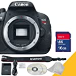 Canon EOS Rebel T5i Body Only with 16...