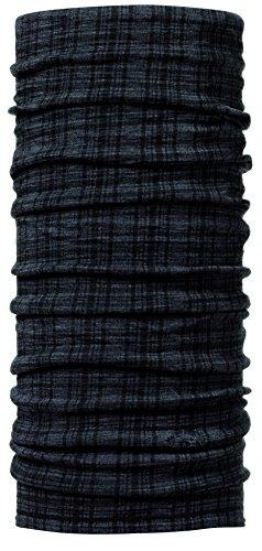 Buff Fascia multifunzione Wool bedruckt, wheel-w plum, 33526, Grigio (colombo grey), Taglia unica
