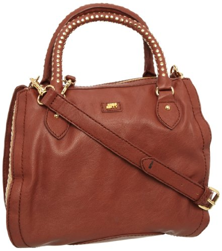 Miss60 Accessories Women's Fredah Duffel Brown