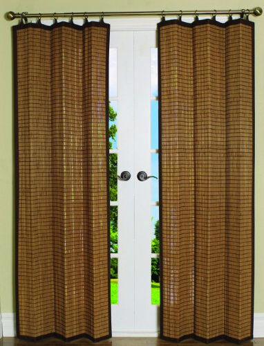 Bamboo Beaded Curtains For Doorways Brown Closet Door Curtains