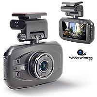 WheelWitness 2K HD Pro Dash Cam with GPS & 16GB microSD Card