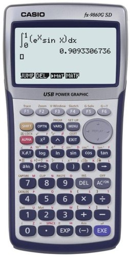 Casio FX-9860G Graphing Calculator [Electronics]