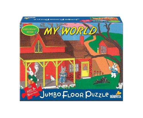 Cheap Briar Patch Goodnight Moon My World Floor Puzzle (B004OBZMFE)