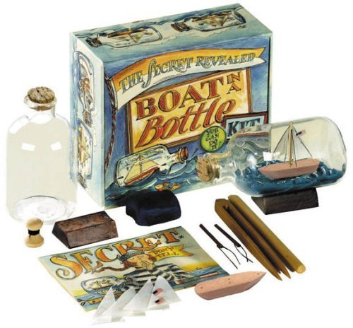 Packaging: Gift Box - Authentic Models Boat in a Bottle Kit boat kit