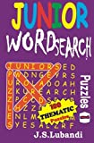 Junior Word Search Puzzles (Volume 1)
