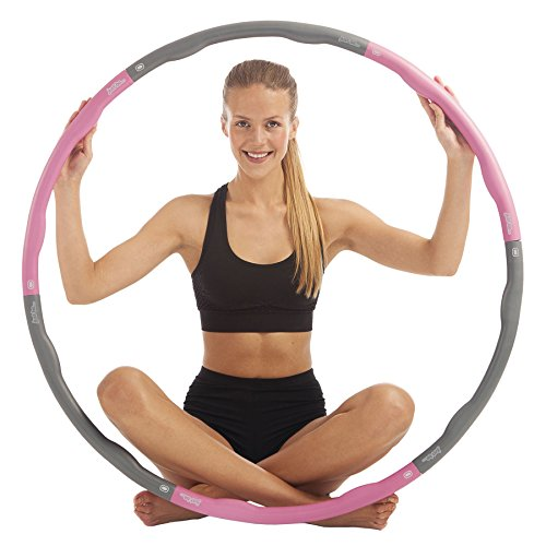 pink-weighted-fitness-hula-hoop-exercise-massager-ab-workout