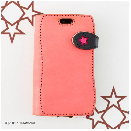 (オジャガデザイン)OJAGA DESIGN  すーぱーそに子 iPhone6 Case(Diary type) (PINK/BLACK)