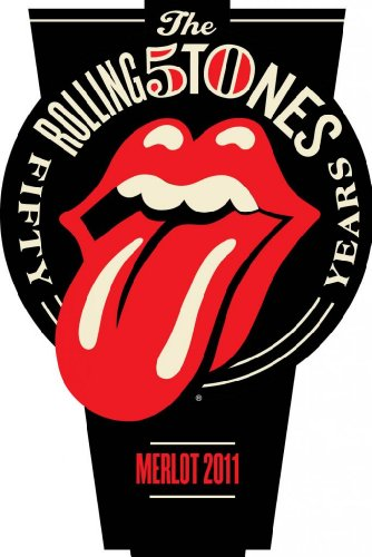 Wines That Rock 2011 Rolling Stones 50th Anniversary 40 Licks Merlot Mendocino County 750mL