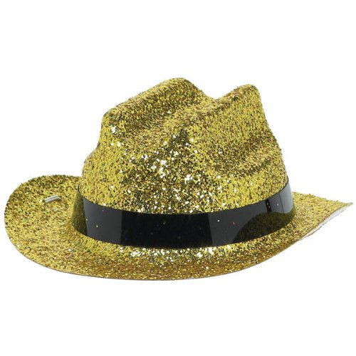 hat lts prty mini cowboy gold - 1